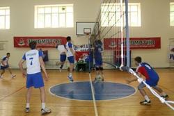 Турнир по волейболу среди профсоюзной молодежи