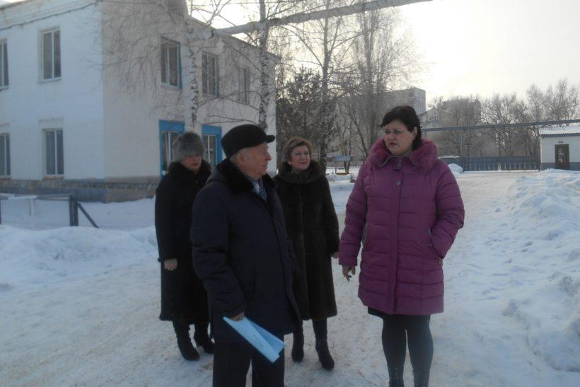 «День обкома» в Калининском районе.