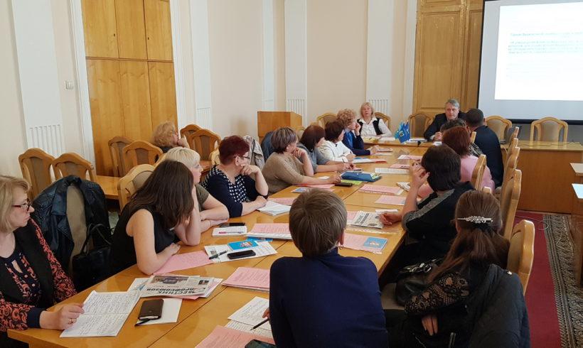 Состоялось очередное заседание ассоциации председателей профсоюзных организаций СПО