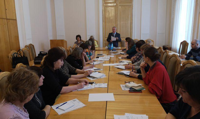 27 февраля 2020 года состоялась заседание Ассоциации председателей профсоюзных организаций дошкольных образовательных организаций