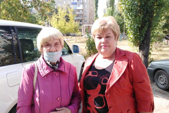 """Акция """"Здравствуй и живи, старшее поколение"""" в Энгельсском районе"""