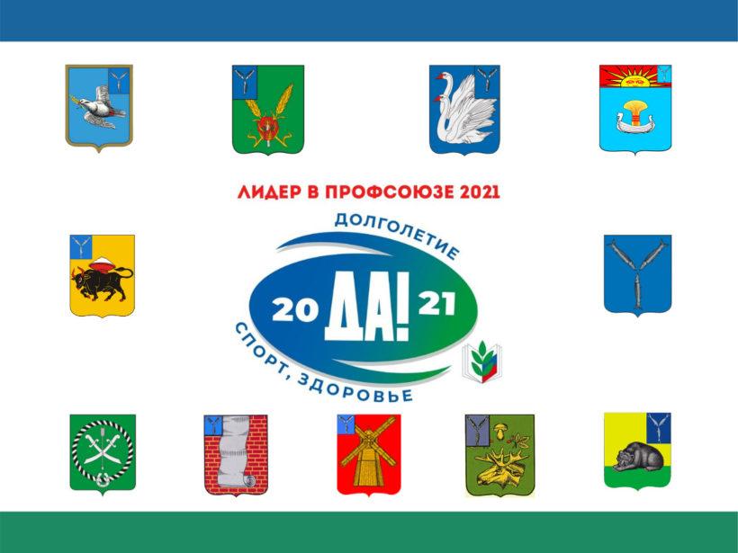"""Участники конкурса """"Лидер в Профсоюзе – 2021"""""""